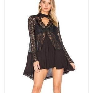 Free people new tell tunic S NWT